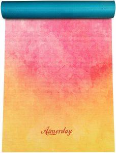 Aimerday Premium Print Yoga Mat