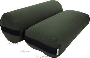 Bean Yoga Bolster Pranayama Support Cushions