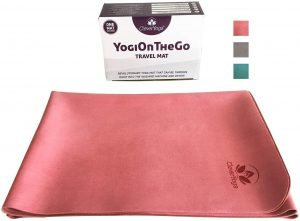 Foldable Travel Yoga Mat By Clever Yoga