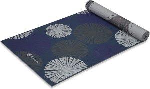 Gaiam Premium Print Reversible Extra Thick Exercise & Fitness Yoga Mat