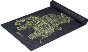Gaiam Yoga Mat Premium Thick Exercise And Fitness Mat