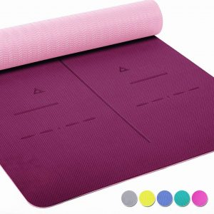Health Yoga Eco-friendly Non Slip Yoga Mat For The Body Alignment System
