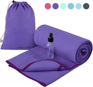 Heathyoga Non-Slip Yoga Towel