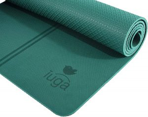 IUGA Eco-friendly Yoga Mat With Alignment Lines