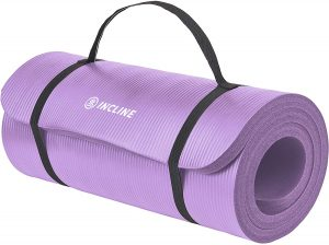 Incline Fit Exercise Mat Ananda With Strap