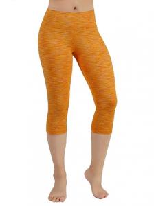ODODOS Power Flex Yoga Capris Tummy Control Workout Non-See-Through Pants With Pocket