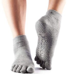Toesox Full Toe For Yoga Socks