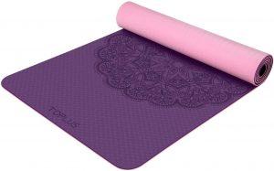 Toplus Yoga Mat Classic Friendly Non Slip Exercise Mat