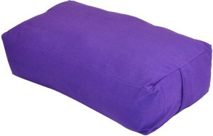 Yoga Accessories Max Support Deluxe Rectangular Cotton Yoga Bolster