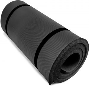 Yoga Cloud Ultra Thick Yoga Mat By Crown Sporting Goods