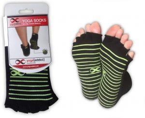 YogaAddict Toeless Socks Yoga