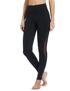 Baleaf Women's 20 28 High Waisted Yoga Leggings Workout Capri Tummy-control Pants With Pocket