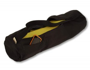 Bean Products Black Cotton Mat Bag