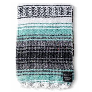 Benevolence LA Mexican Blanket For Yoga, Hand-Woven