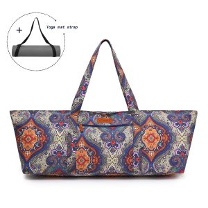 Elenture Large Yoga Mat Tote Bag