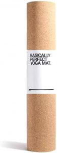 Gaia Guy Natural Cork and Natural Rubber Yoga Mat