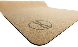 Heala Fit Premium Cork Yoga Mat with Strap