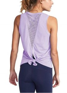 Mippo Cute Mesh Workout And Yoga Top