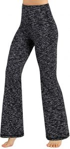 Ododos Power Flex Boot-Cut Yoga Pants For Women