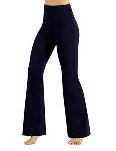 Ododos Power Flexi Boot-Cut Yoga Pants Tummy Control