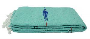 Open Road Goods Mint Green ThunderBird Heavyweight Yoga Blanket