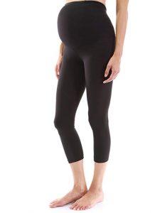PattyBoutik Mama Shaping Series Maternity Crop Leggings Yoga Pants