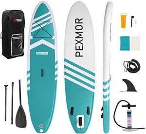Pexmor Inflatable Stand Up Paddle Board