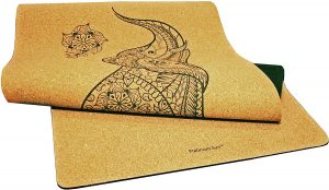 Platinum Sun Luxury Cork Yoga Mat