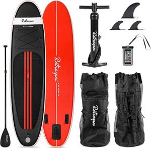 Retrospec Weekender Inflatable Stand Up Paddleboard