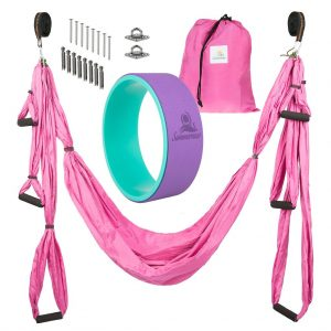Summerese Yoga Swing and Yoga Wheelset