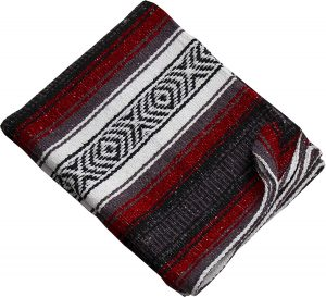 Threads West Premium Beach Heavy-Weight Mexican Falsa Blanket No Tassels