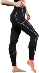 TrainingGirl Hot Neoprene Sauna Sweat Pants For Women