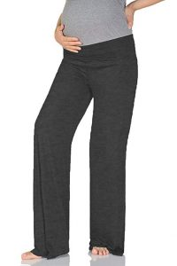 Women's Maternity Wide And Straight Comfortable Pants