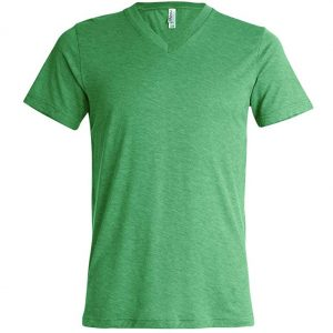 Tri-Blend V-Neck Tee Shirt