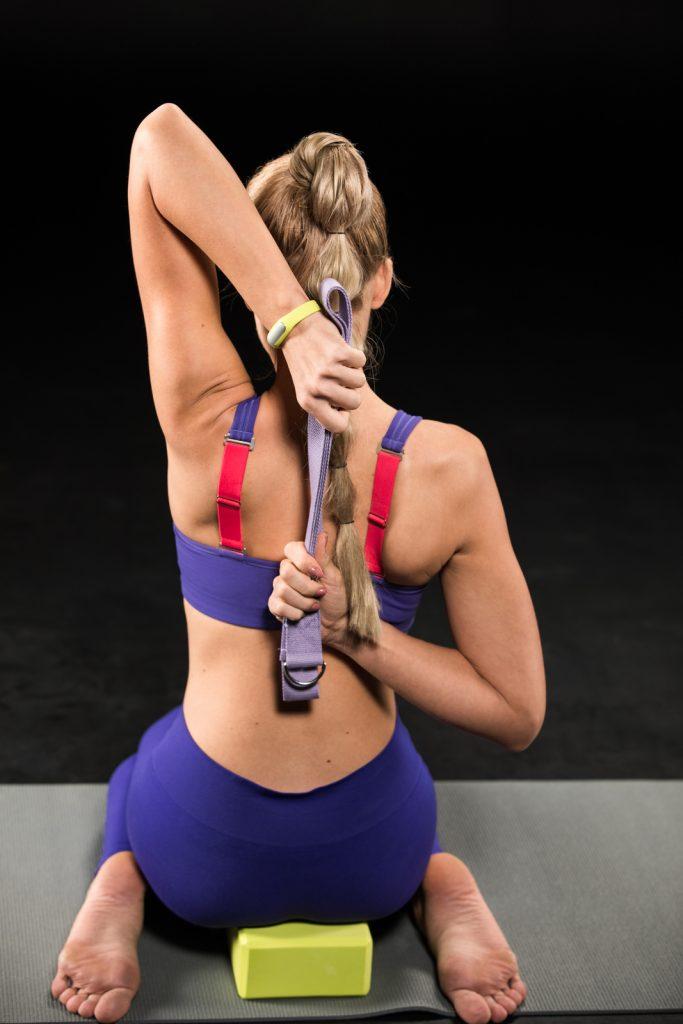 Using Yoga Straps
